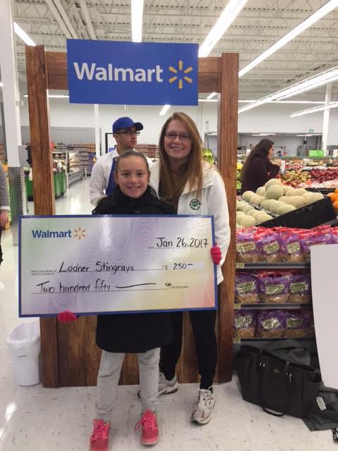 Stingrays  and Walmart